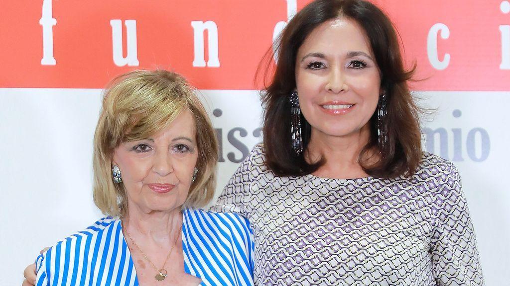 """La reacción de Isabel Gemio tras llamarla """"mezquina"""" María Teresa Campos"""