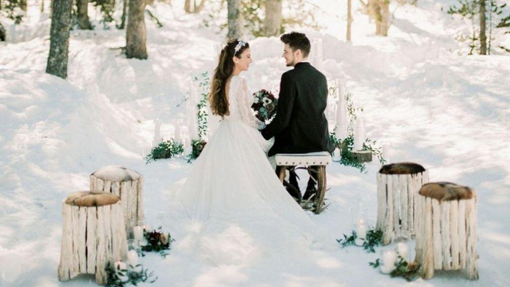 Las bodas de invierno tendrán que tener distintos puntos de luz y calidez.