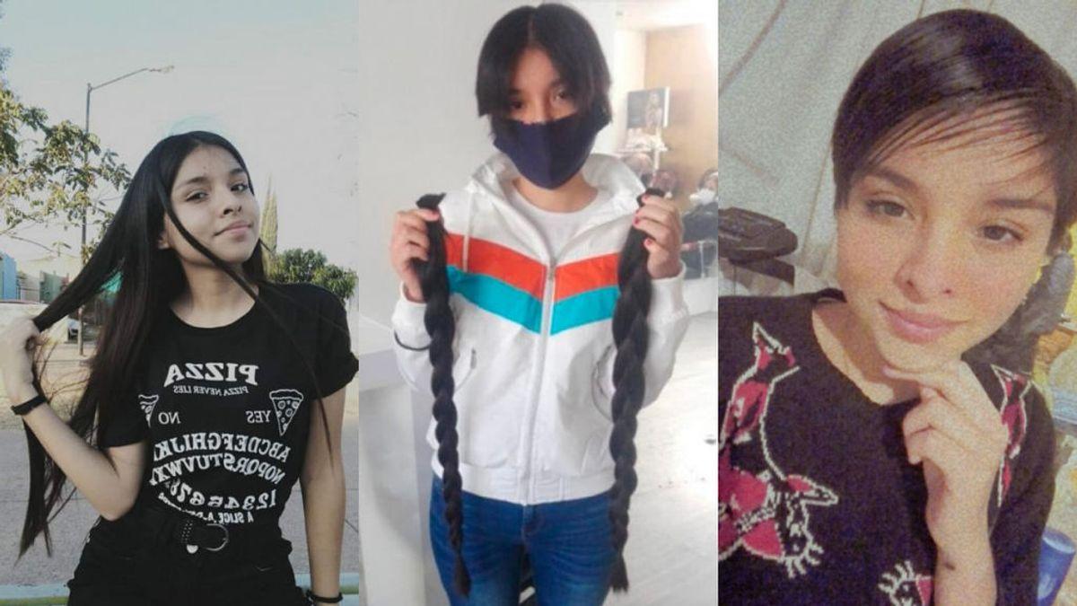 La historia de Ana Paola, la joven mexicana que vendió su pelo para salvar a su abuelo con coronavirus