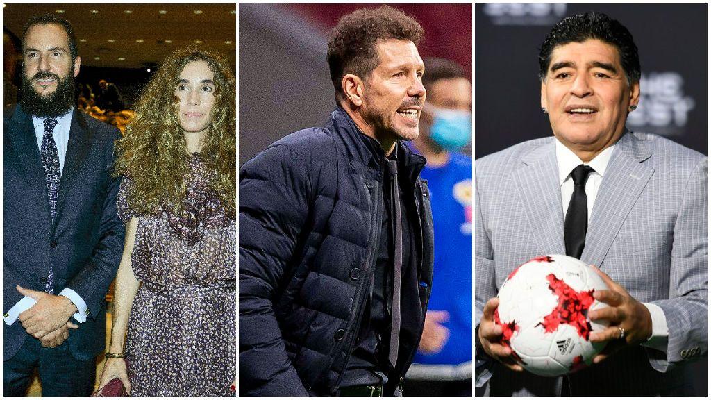 Borja Thyssen, Simeone, Maradona y otras celebridades que dijeron 'sí' a tener cinco hijos: así es su familia numerosa.
