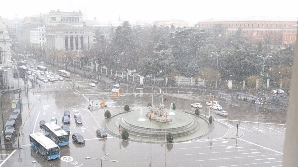 Fuente de la Cibeles, en Madrid
