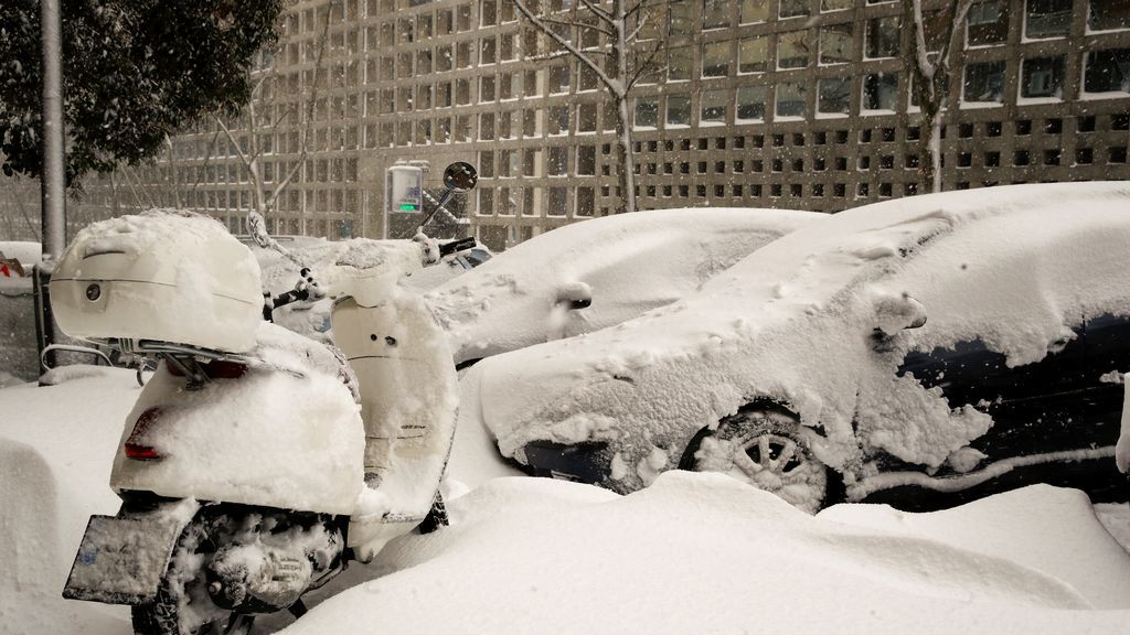 Nevada histórica: media España queda paralizada por la nieve