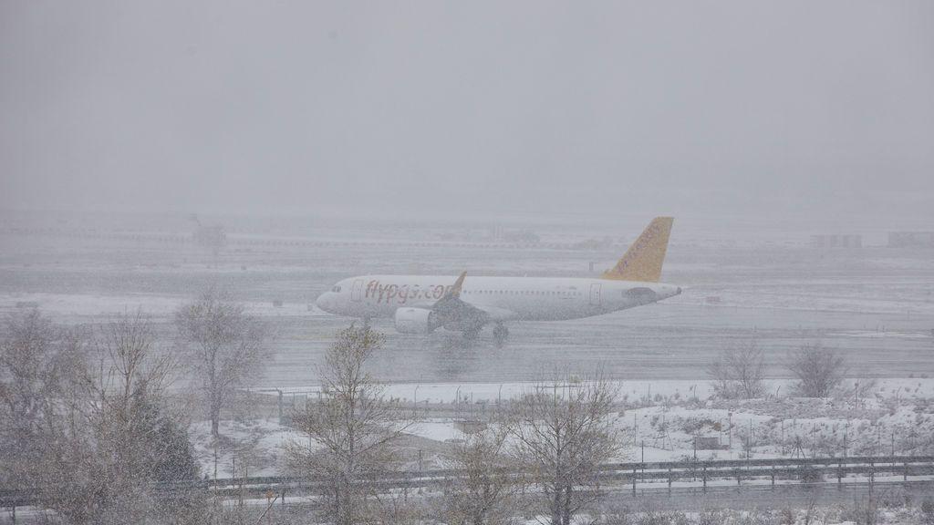 Aeropuerto de Barajas, en Madrid