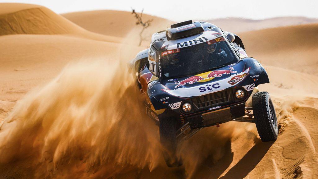 Victoria para Al-Rajhi y Brabec en la séptima etapa del Dakar, mientras Carlos Sainz sigue luchando para escalar puestos