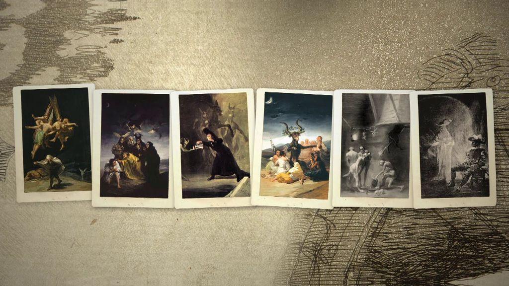 Los cuadros de las brujas de Goya