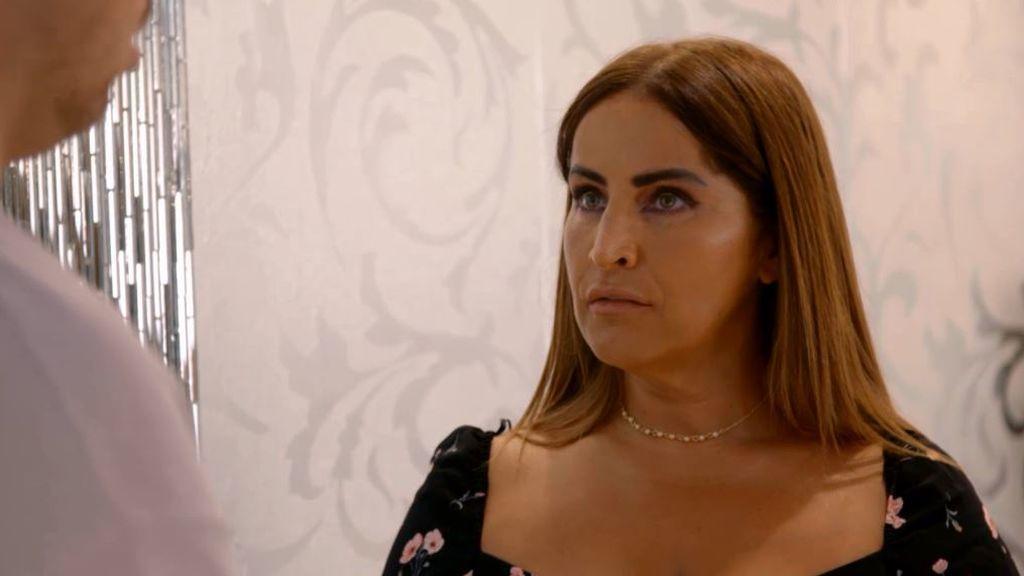"""Raquel se pone seria con Antón: """"Engañar a la suegra es uno de los peores pecados del mundo"""""""