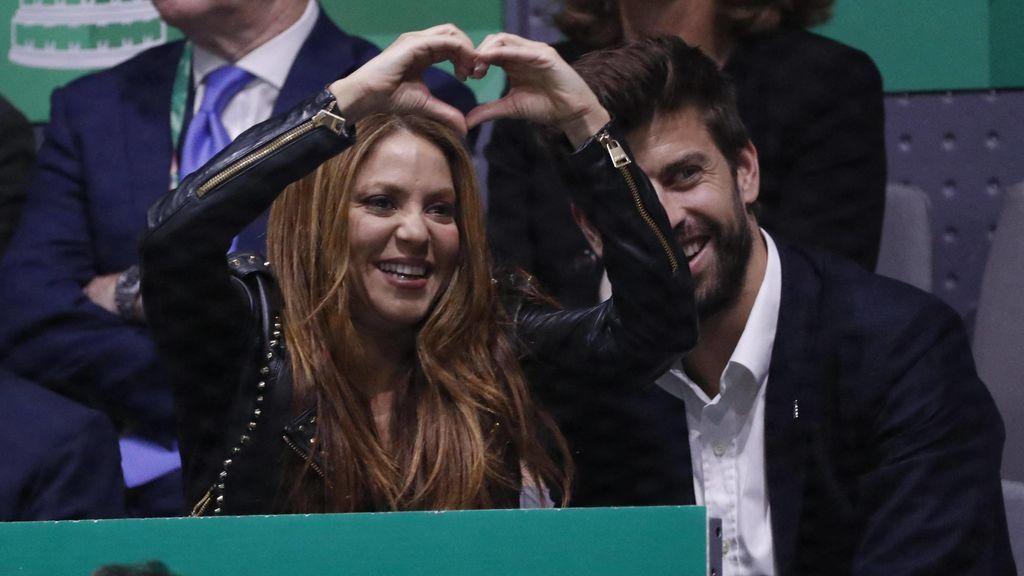Shakira es diez años mayor que Piqué.