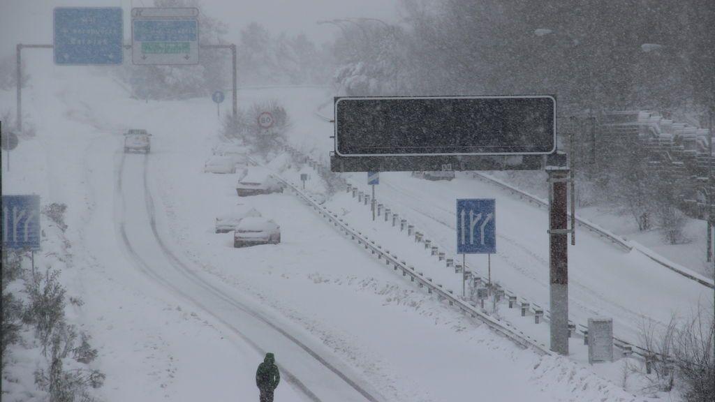 Filomena congela las temperaturas en Madrid y Soria por debajo de los -10ºC