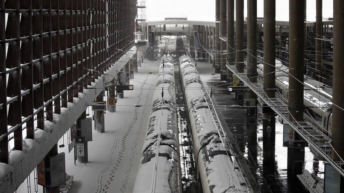 Restablecida la circulación de trenes AVE entre Barcelona y Madrid