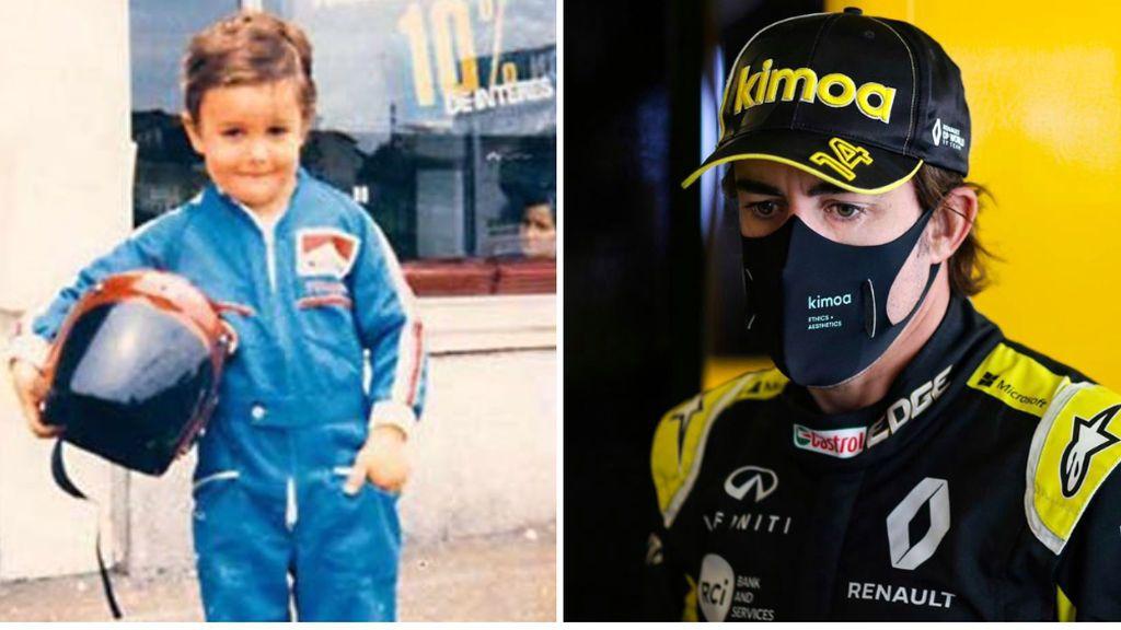 """La emotiva reflexión de Fernando Alonso en agradecimiento a su familia: """"Ante la falta de recursos económicos"""""""