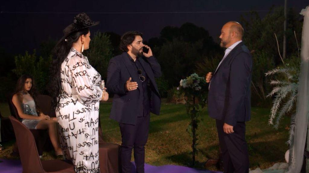 Daniel y Marisol en su segunda boda