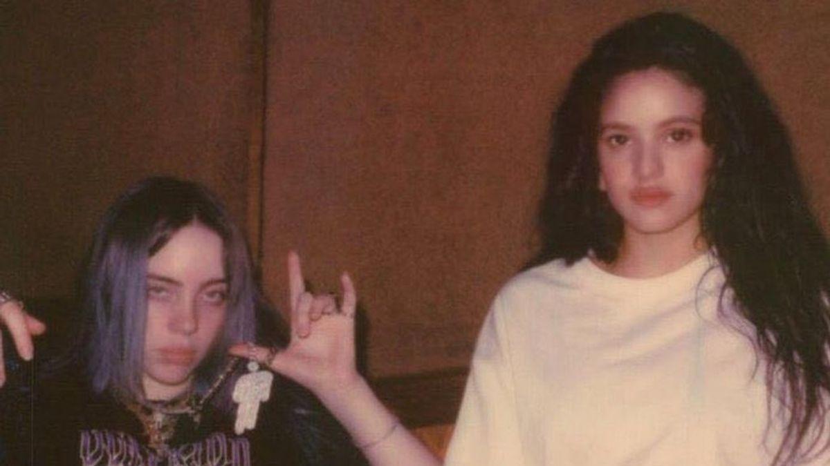 La colaboración más esperada: Rosalía y Billie Eilish podrían sacar una canción juntas la semana que viene