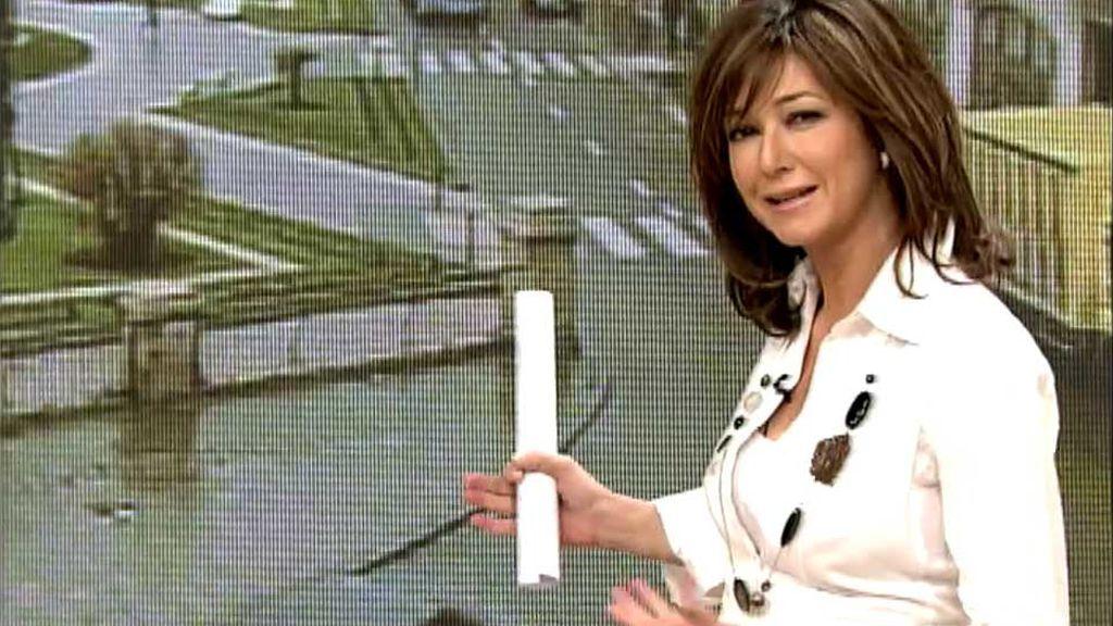 Ana Rosa, en el estreno de 'AR' (2005)