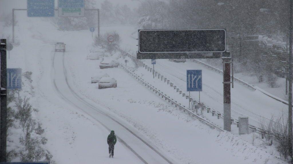 En Madrid nevó 30 horas seguidas entre el viernes y el sábado