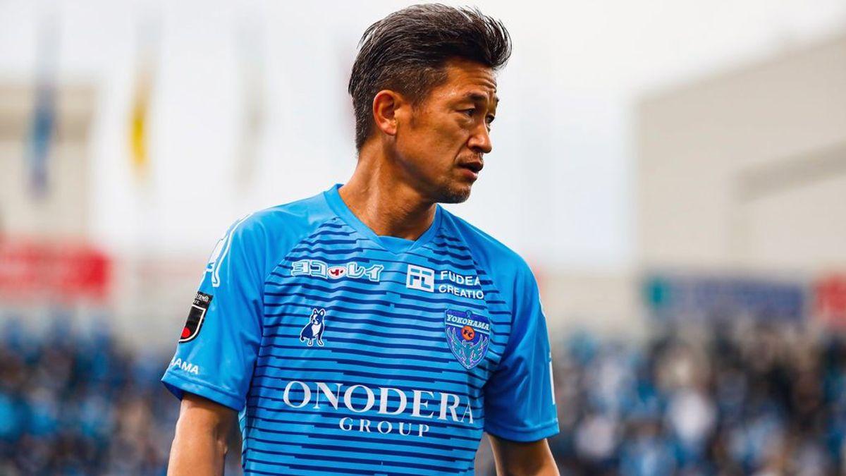 """El """"Miura"""" del fútbol japonés: Kazuyoshi renueva con el Yokohama FC y jugará en primera con 54 años"""