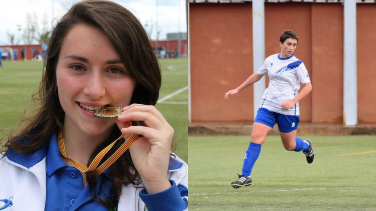Muere Rosa Sáenz, una joven futbolista de Hospitalet de Llobregat, en un accidente de tráfico