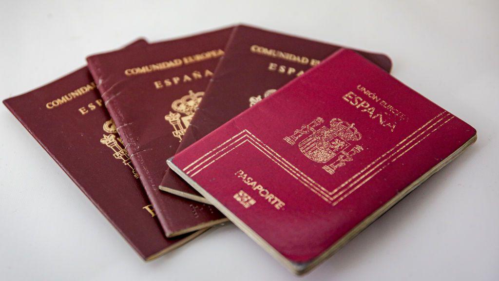 El documento identificativo del pasaporte