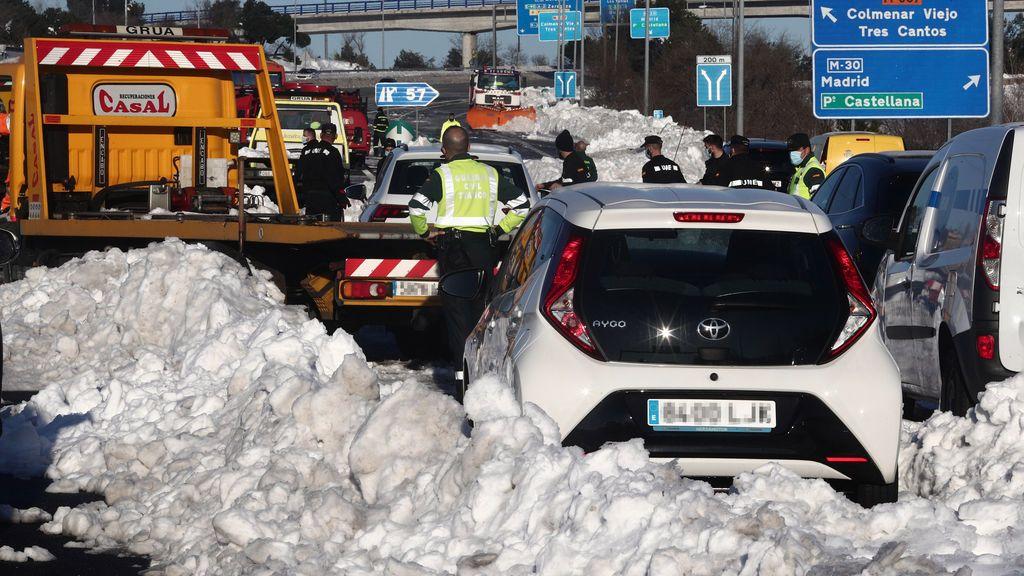 ¿Cómo recuperar tu coche abandonado en la nieve tras Filomena?