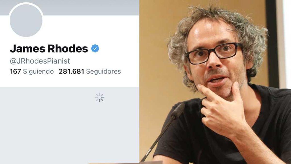 James Rhodes, con problemas en su cuenta de Twitter