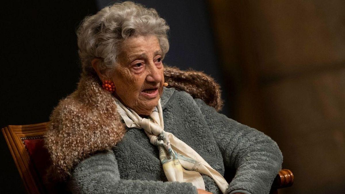 """Muere Annette Cabelli, la española que sobrevivió a Auschwitz y que """"nunca lloró"""""""