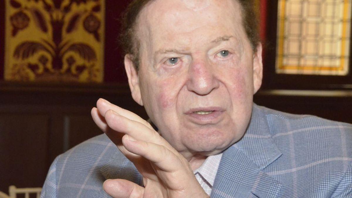 Muere de cáncer con 87 años Sheldon Adelson, el magnate que quiso construir Eurovegas en Madrid