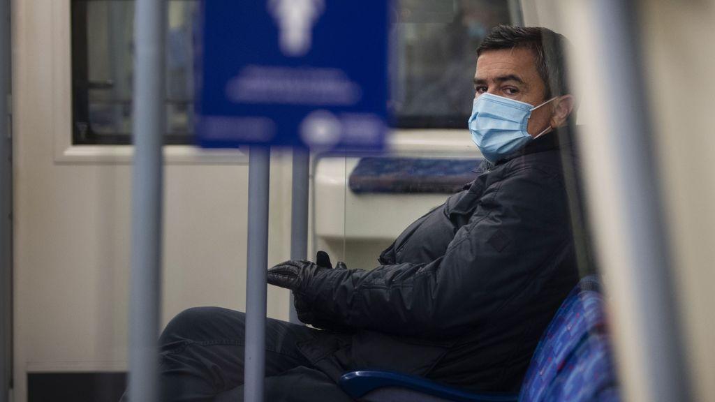 Trabajador en el metro de Londres