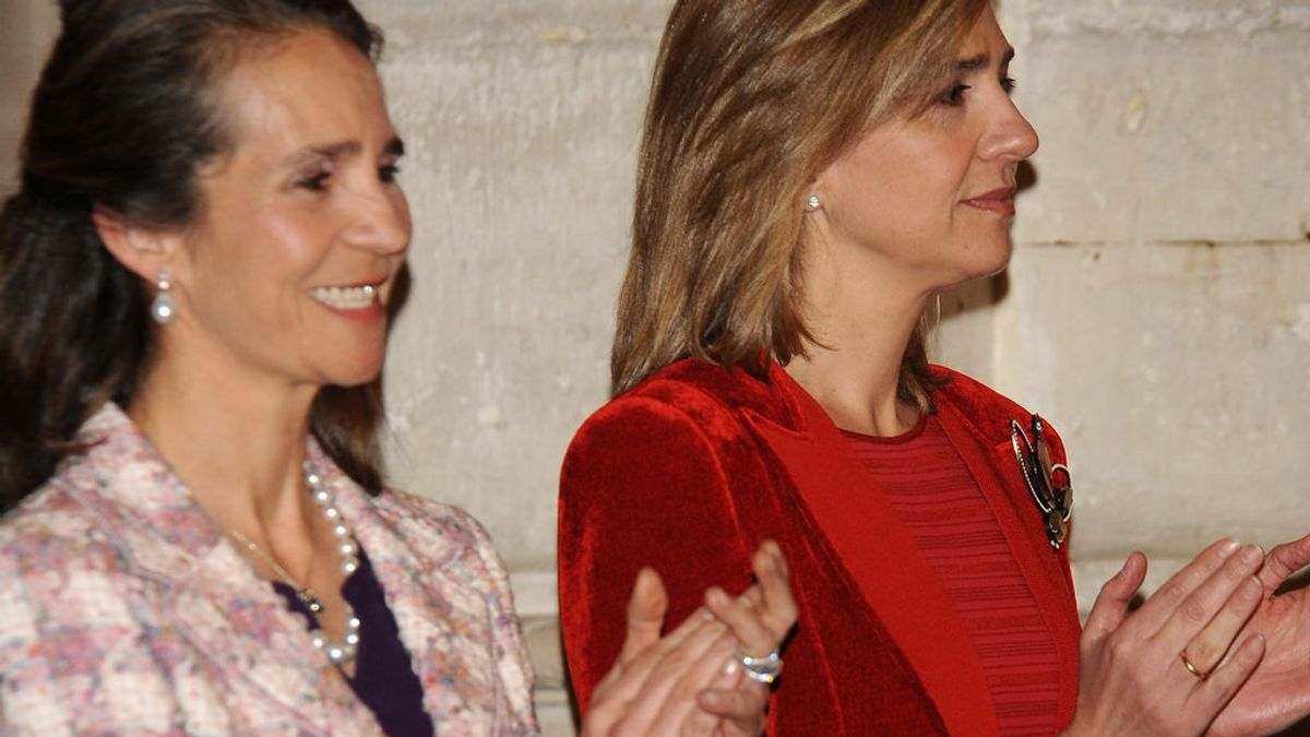 """La herencia millonaria del rey emérito que convertirá a las infantas Elena y Cristina las """"más ricas de España"""""""