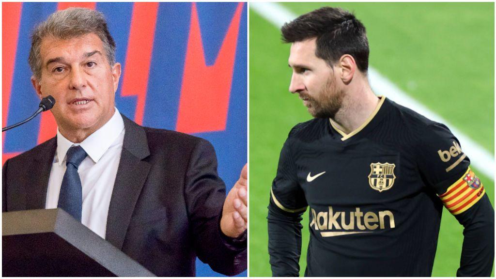 Laporta y Messi mantienen una gran relación.