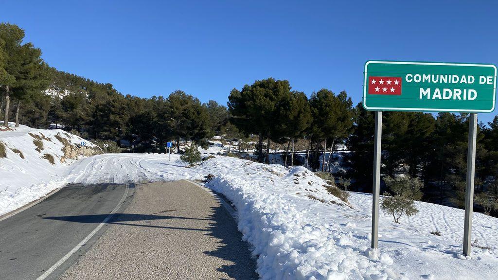 El estado de las carreteras tras el paso de Filomena, que la DGT facilita al minuto