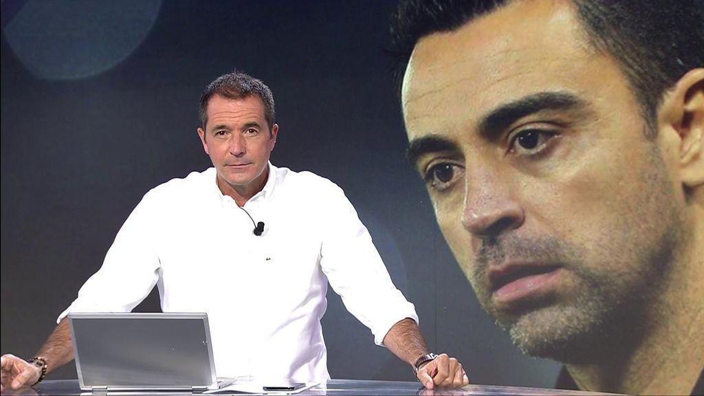 Manu Carreño, en un momento del programa de Deportes Cuatro.