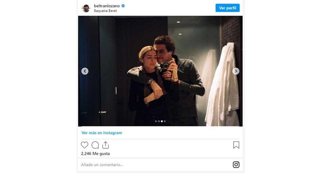 Beltrán Lozano y Daniela Figo