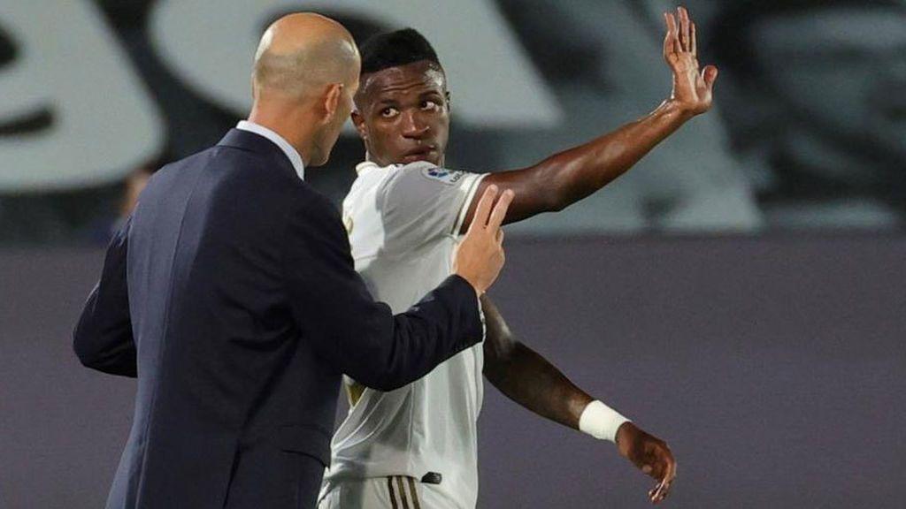 """El desplante de Vinicius a Zidane por el que ha perdido la confianza del entrenador: """"No juegas"""""""