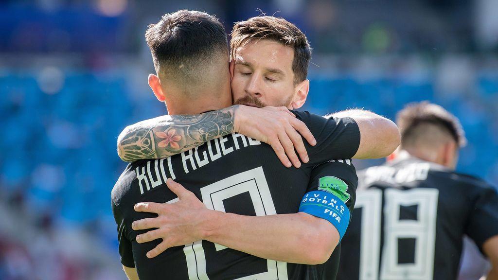 El as en la manga de PSG y Barcelona para tratar de convencer a Messi: el Kun Agüero tiene la llave