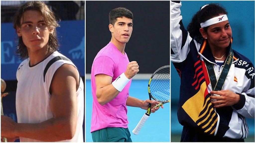Carlos Alcaraz entra en el selecto club de Arantxa Sánchez Vicario y Rafa Nadal: jugará un Grand Slam con solo 17 años
