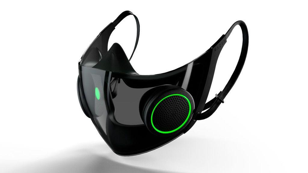 Razer presenta una mascarilla inteligente para gamers