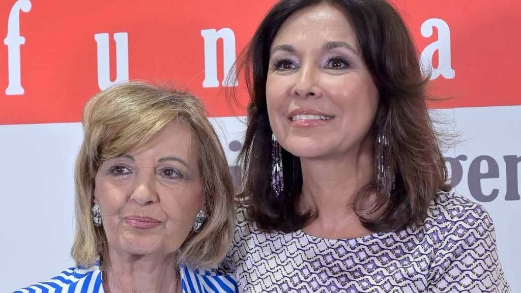 """Isabel Gemio responde por primera vez a su polémica con María Teresa Campos: """"Sus insultos no me duelen"""""""