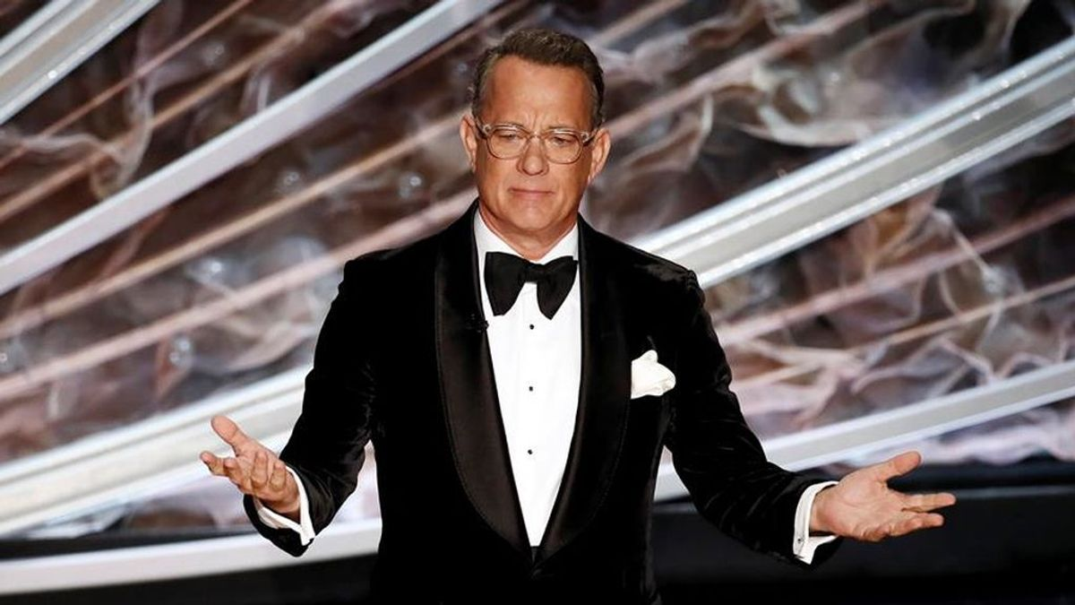 Tom Hanks Biden espectáculo