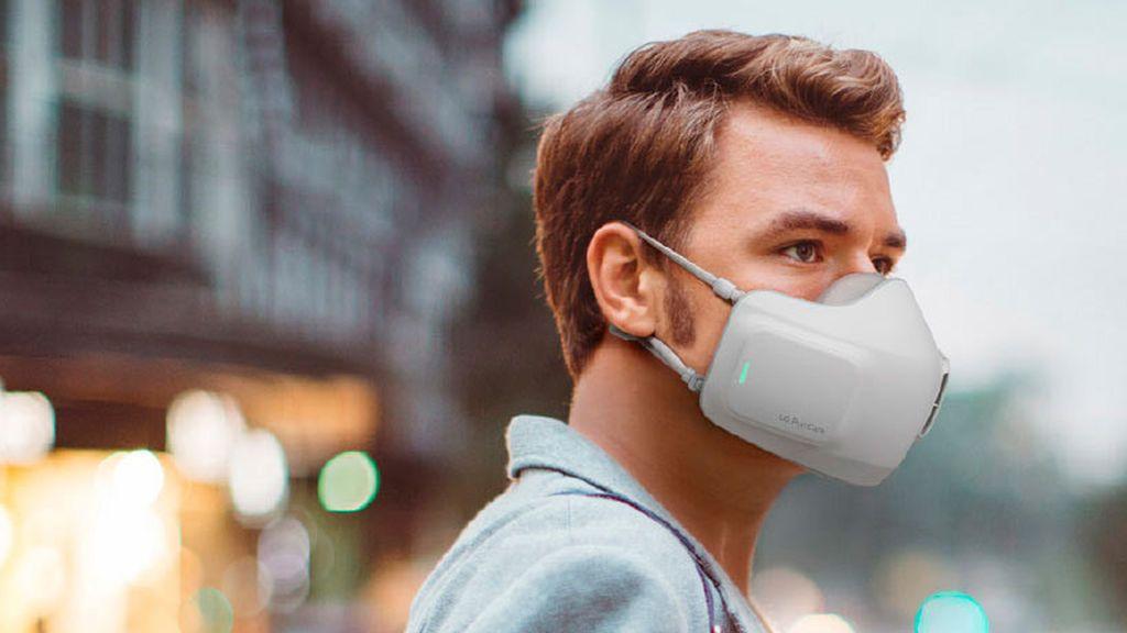 Nace la primera mascarilla inteligente que ayuda a respirar y filtra el coronavirus