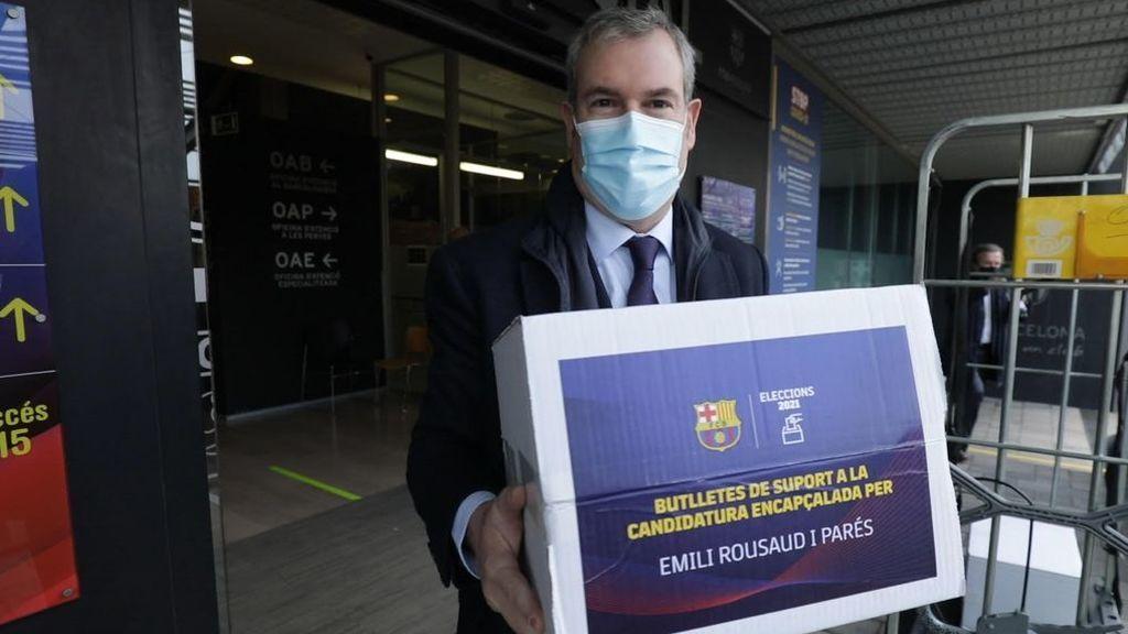 Rousaud no se presenta a las elecciones del Barcelona.