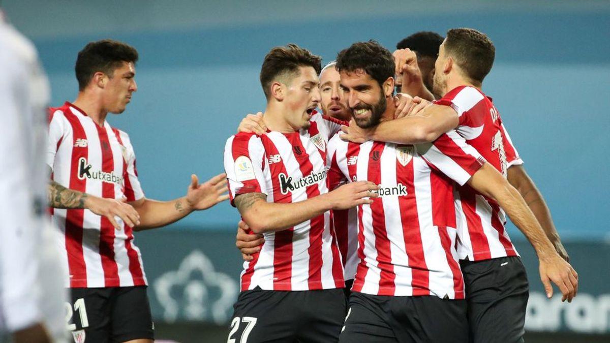 El Athletic doblega al Real Madrid y jugará la final de la Supercopa de España ante el Barça (1-2)