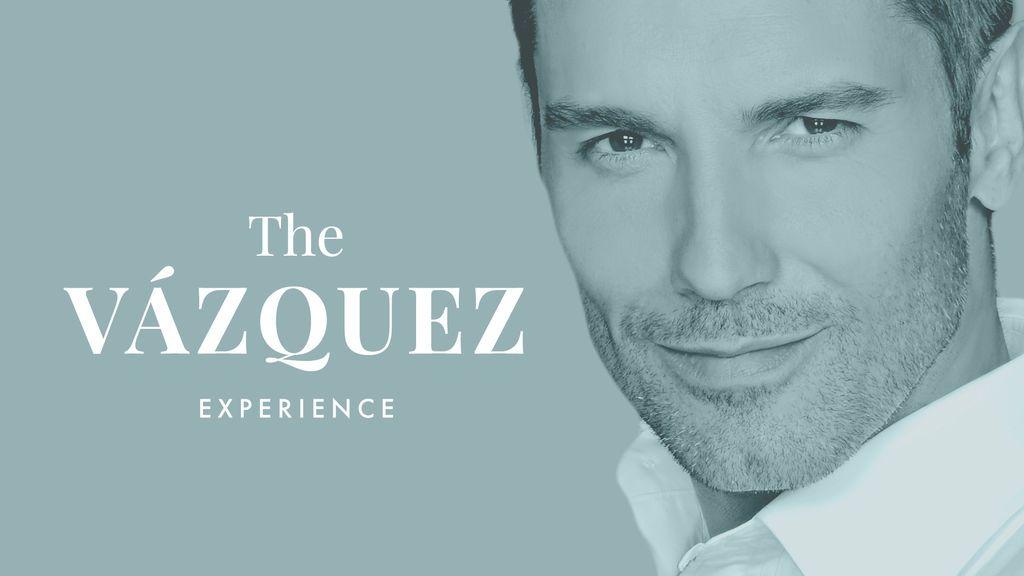 Jesús Vázquez estrena en Mtmad 'The Vázquez Experience', formato semanal de entrevistas con Willy Bárcenas como primer invitado