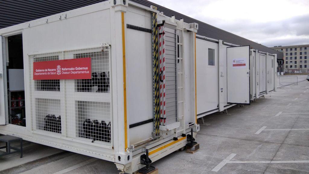 Un hospital móvil recorrerá Navarra para llevar la vacuna contra la covid-19 a las zonas rurales