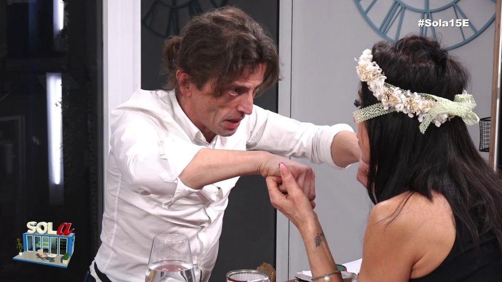 """Maite pone contra las cuerdas a Remi, su novio: """"Aclárame si me has sido infiel"""""""