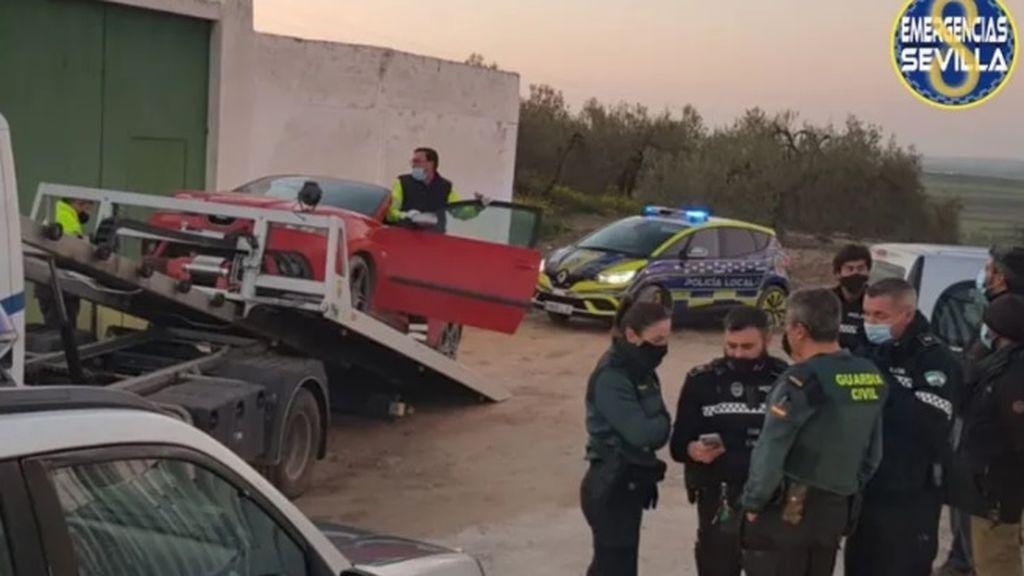 Cuatro detenidos tras una persecución de alto riesgo a 180 km por hora en Sevilla