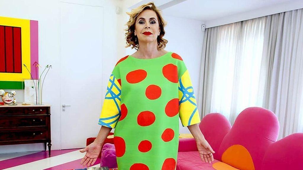 Una oda al color y a sí misma que comparte con sus dos hijos: así es por dentro la casa de Ágatha Ruiz de la Prada
