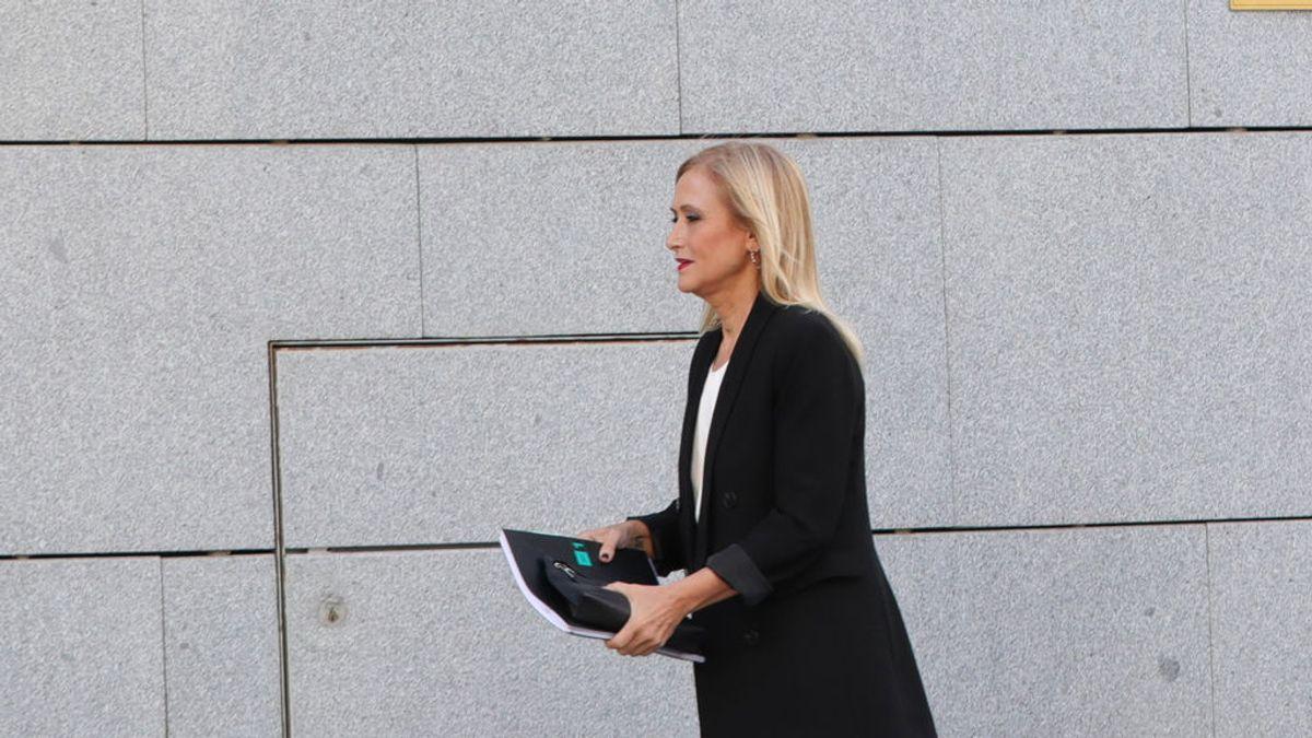 Cifuentes en el banquillo por el caso Máster, se juega tres años de cárcel y 30.000 euros