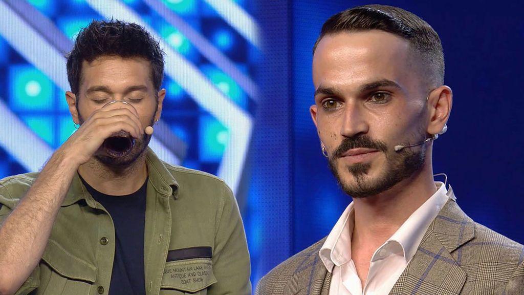Adolfo Masyebra consigue lo imposible al hacer que Dani Martínez beba vinagre pensando que es zumo de piña