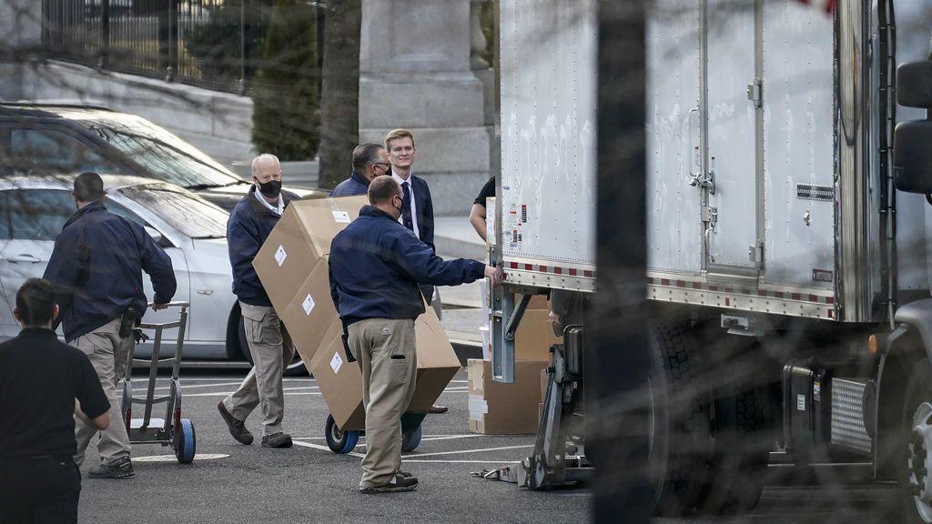 Mudanza en la Casa Blanca: Donald Trump ya recoge sus pertenencias para dar paso a Joe Biden