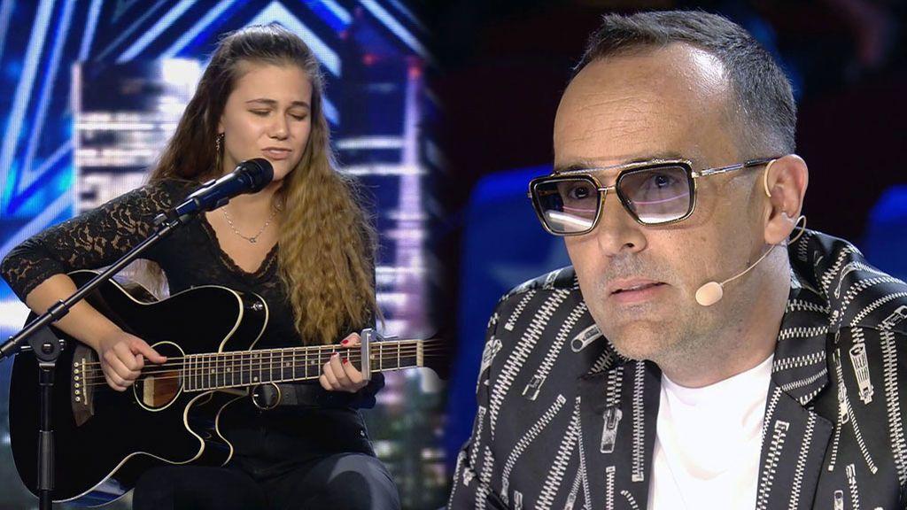 """Gisela canta para que su abuela recupere la memoria y emociona a Risto Mejide: """"Mi abuela murió con Alzheimer"""""""