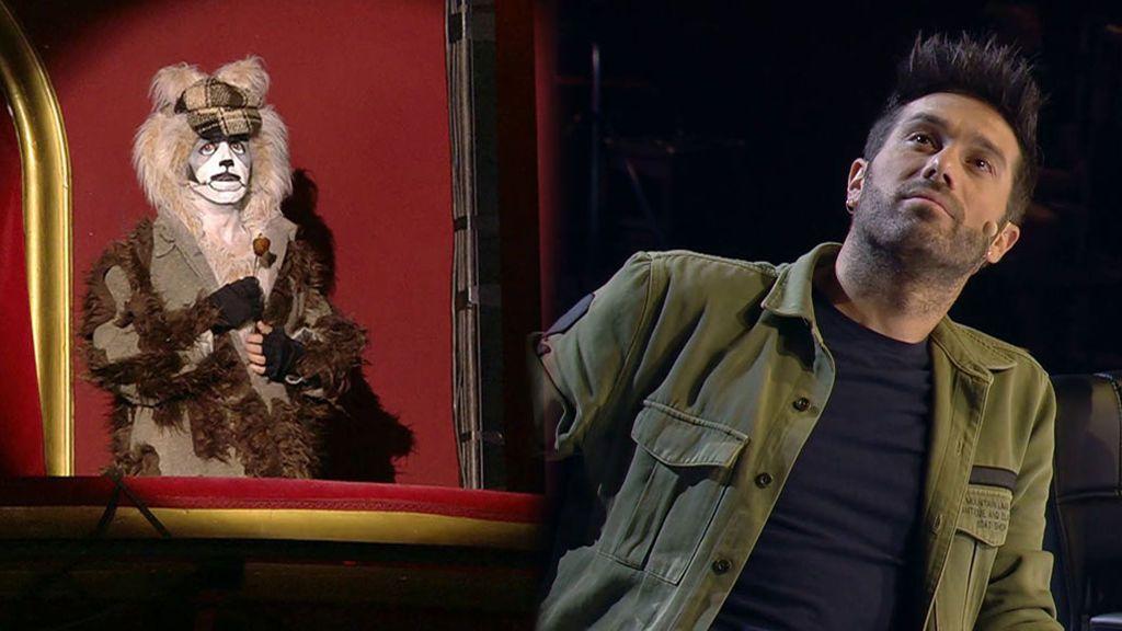 La actuación de Chus Serrano en 'Got talent'